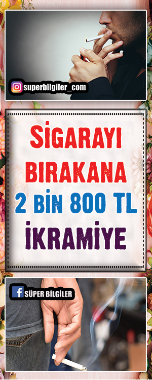 """Sigarayı bırakana 2 bin 800 TL ikramiye HAK-İŞ Genel Sekreter Yardımcısı Erdoğan Serdengeçti """"Mevcut çalışanlarımıza sigarayı bırakırlarsa 2 bin 800 liralık brüt ikramiye veriyoruz"""" açıklamasında bulundu."""