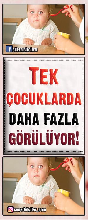 Ankara'da 3 bin çocuk üzerinde yapılan araştırmada, kardeşi bulunmayanlardaobeziteye daha fazla rastlandığı tespit edildi.