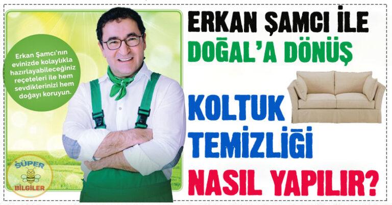 Koltuk nasıl temizlenir? – Erkan Şamcı