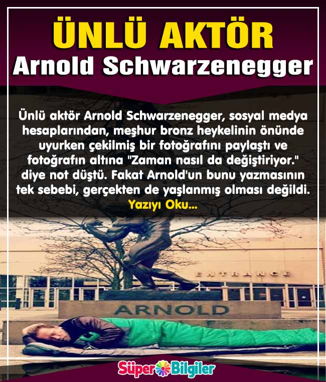 Ünlü aktör Arnold Schwarzenegger 2