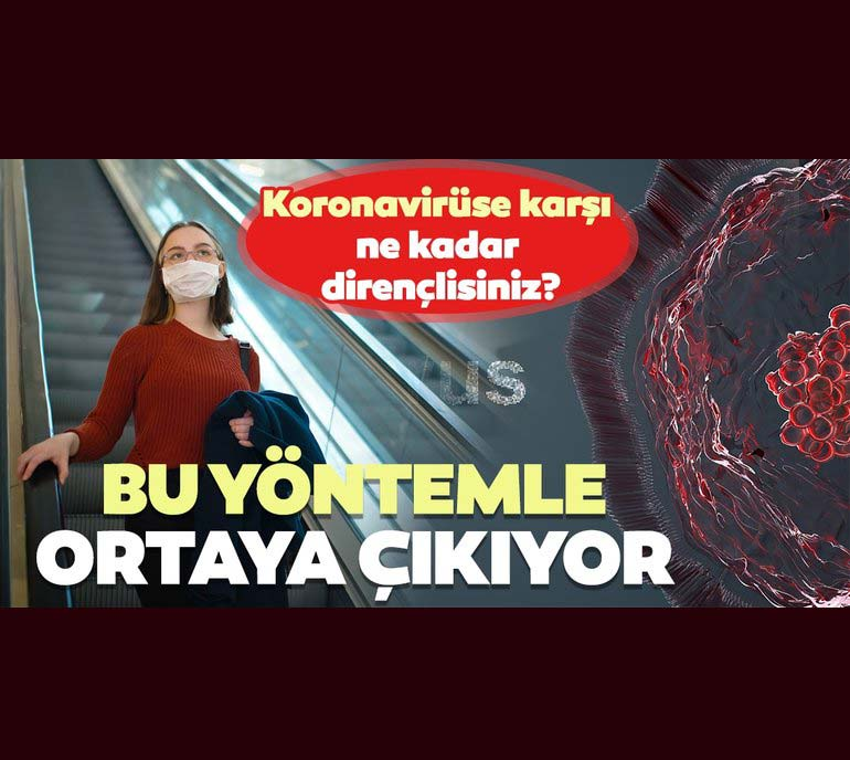 Koronavirüse Karşı Ne Kadar Dirençlisiniz Bu Yöntemle Ortaya çıkıyor