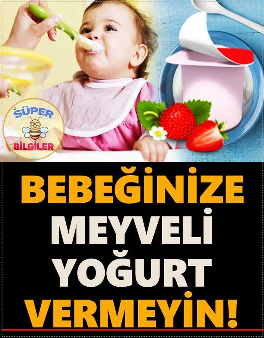 Bebege Meyveli Yogurt Verilirmi Meyveli Yogurt Yedirmek Zararlimi